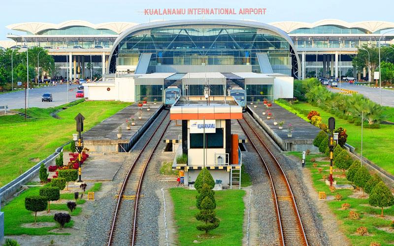 Perjalanan panjang pt kai dalam meningkatkan pelayanan kereta api stasiun bandara kualanamu medan yang di kelola pt kai dok pt kai persero reheart Choice Image