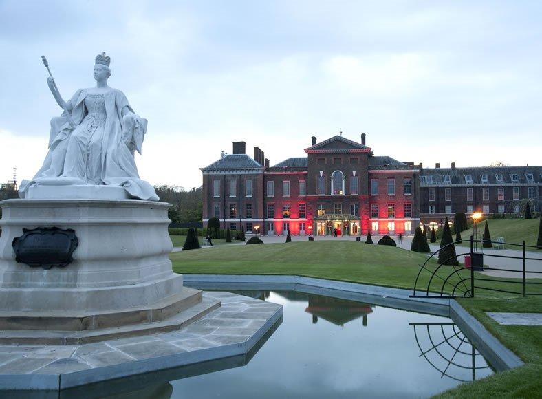 Kensington Palace, London. Istana yang indah dan prestise tersebut menjadi tempat penyelenggaraan The World Branding Awards 2016