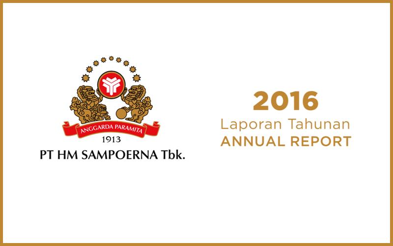 Cover Annual Report PT HM Sampoerna Tbk.
